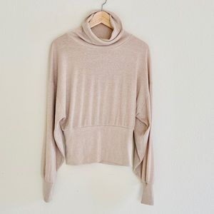 Free People Glam Turtle Neck Sweater S